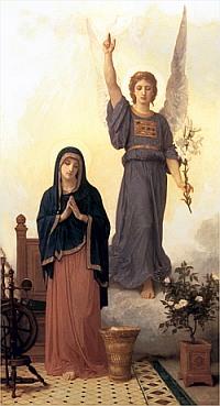Annunciation-Bouguereau